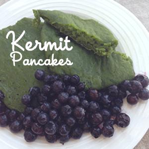 Kermit Pancakes