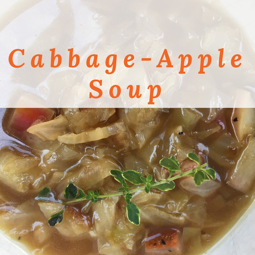 Cabbage-Apple Soup