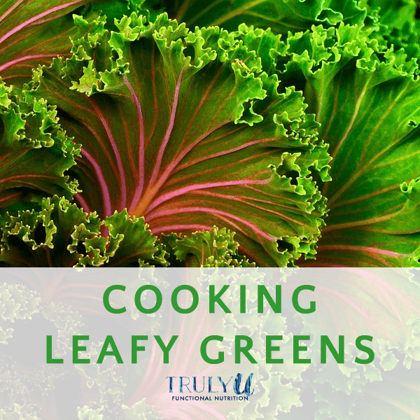 Cooking leafy greens